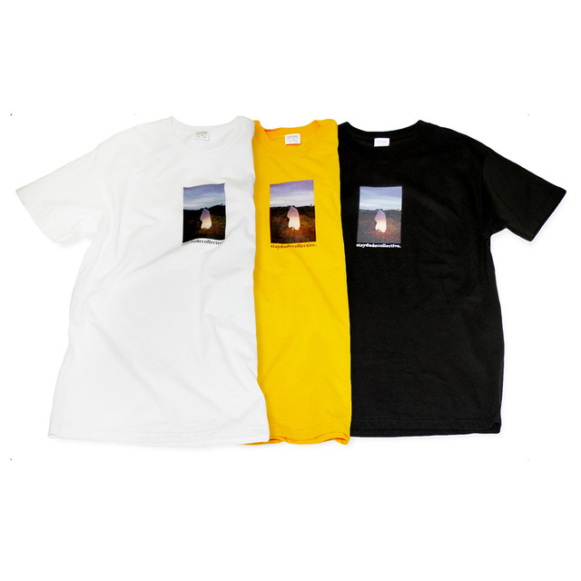 【STAY DUDE COLLECTIVE】 Lonely Ghost SS Tee