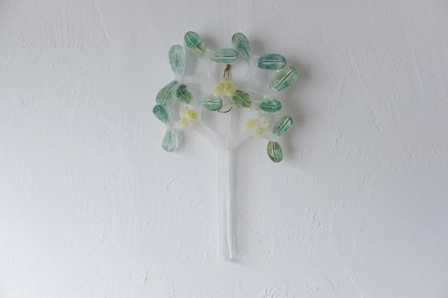 安達知江 ガラスの切り花 【 ヤドリギ 】