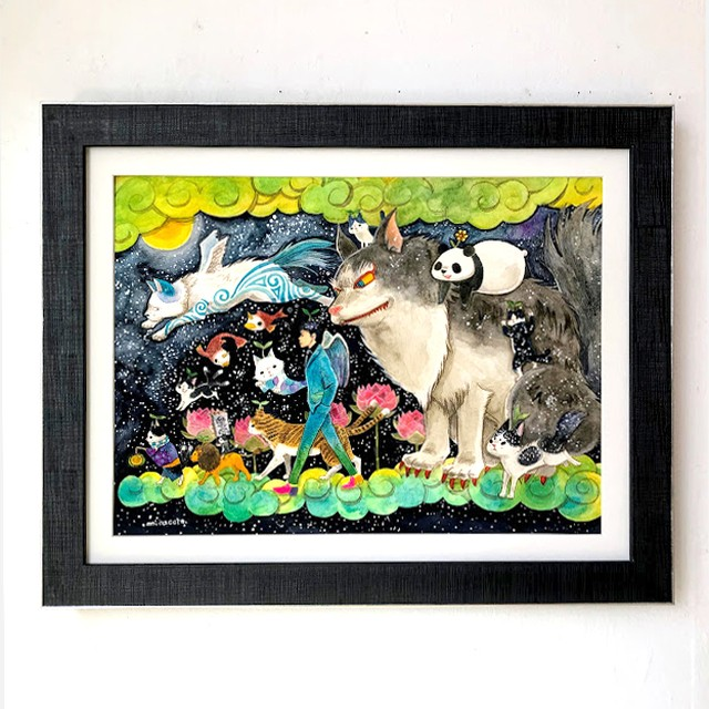 marini*monteany 「Carry cats and fish」