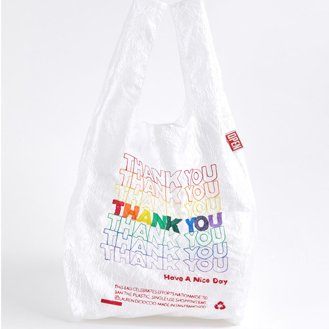 OPEN EDITION  RAINBOW THANK YOU TOTE