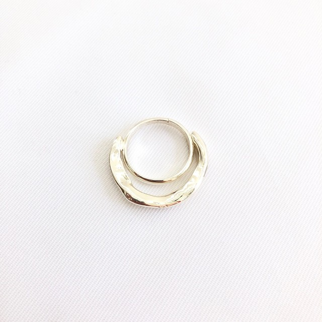 【 SeadsMara 】- 19A3-21 - petit wave ring