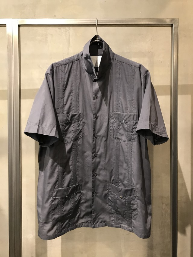 TrAnsference cuba shirt - grey