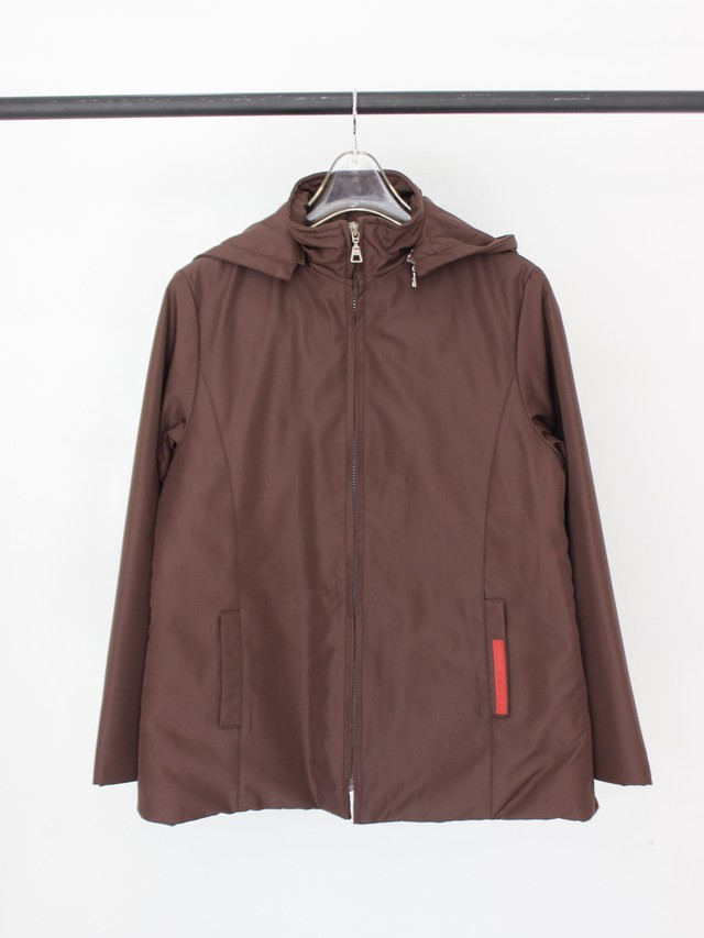 Used PRADA zip-up blouson