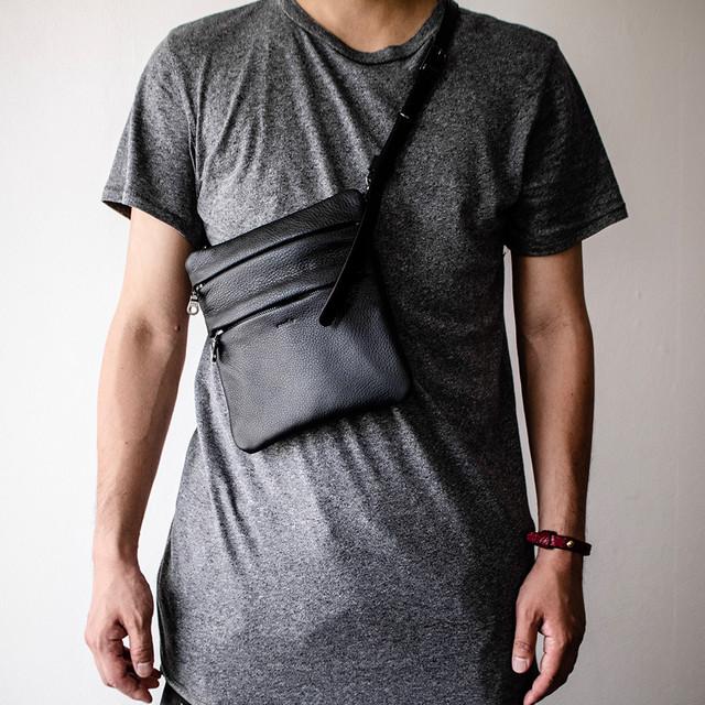 クリアバッグ 透明ショルダーバッグ Clear Bag 【再販】