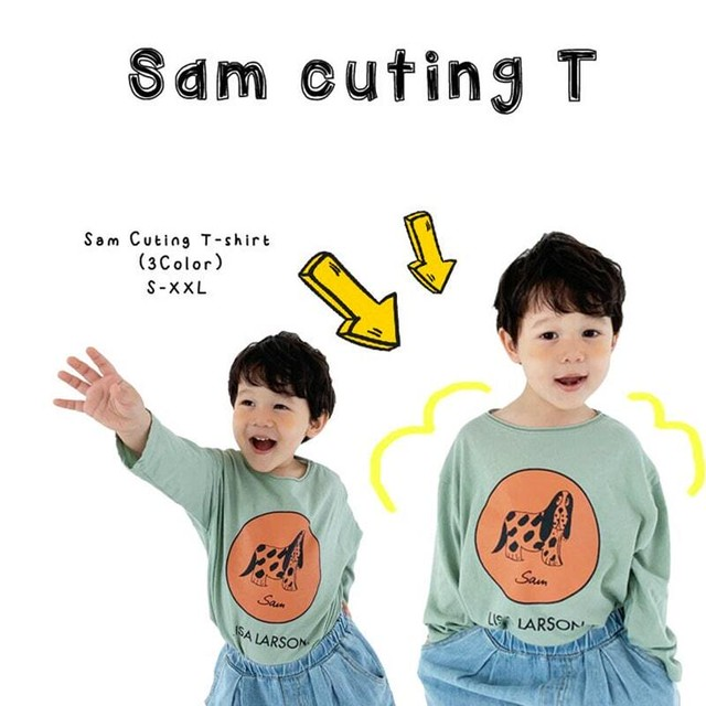 «sold out» LISA LARSON sam cut&saw  リサ ラーソン サム カットソー