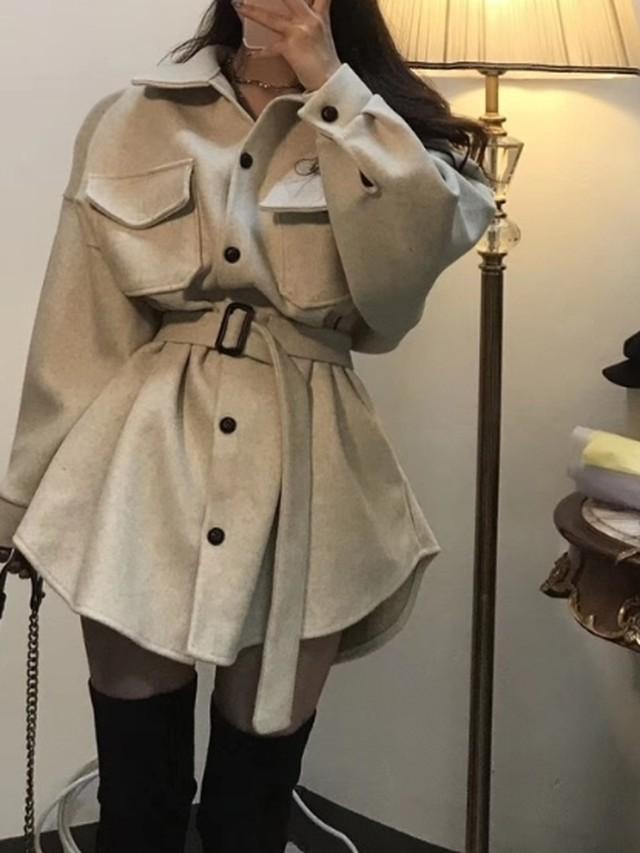 ハイネックパディンコート ぺディン 韓国ファッション