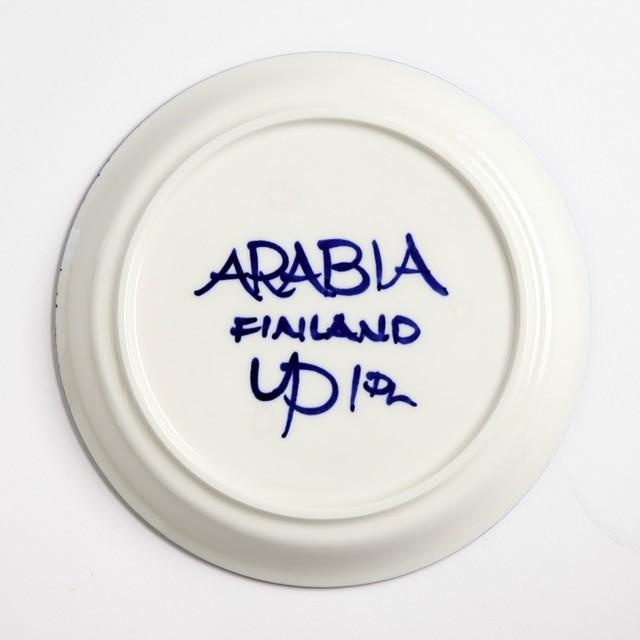 ARABIA アラビア Valencia バレンシア 100mmティーカップ&ソーサー - 27 北欧ヴィンテージ