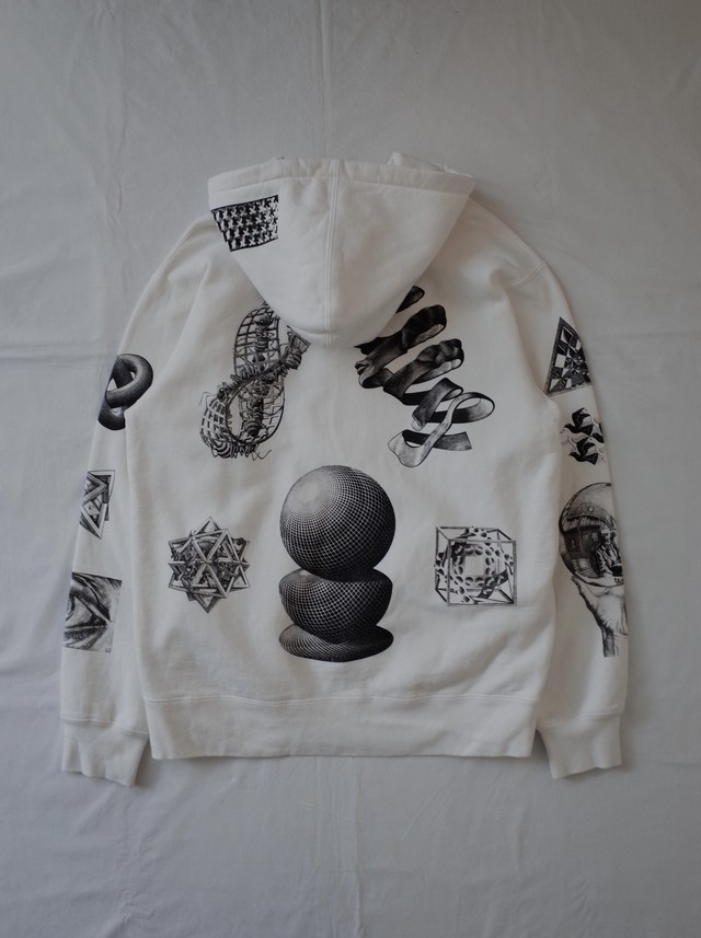Used Supreme×Escher Hoodie