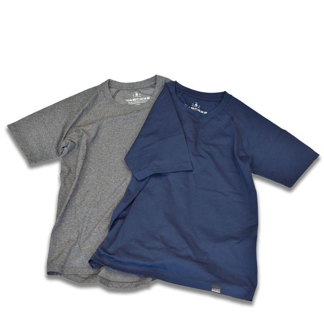 mountdoor マウントドア 山町カットソー黒子 ショートスリーブ Tシャツ