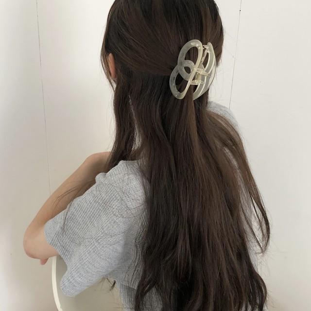 pretzel hair clip(3 colors)