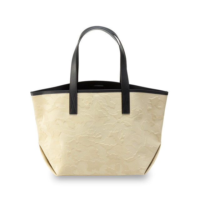 GENTIL BANDIT LABEL NOIR CANVAS TOTE MM BEIGE