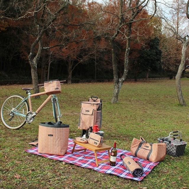 【ラスト一点】バカンス 折りたたみピクニックマット&クーラーバッグ
