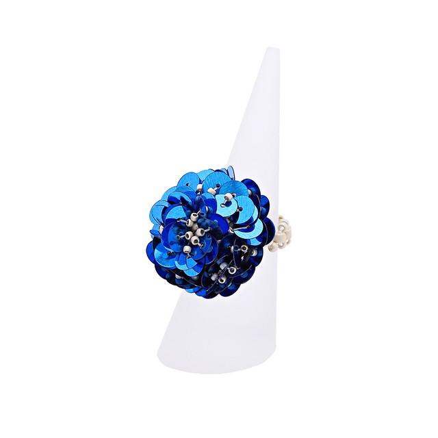 KI-KUリング/ BLUE【ひびのこづえ】 ビーズアクセサリー