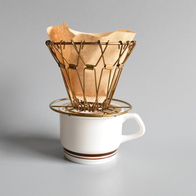 ブラス コラプシブル コーヒードリッパー
