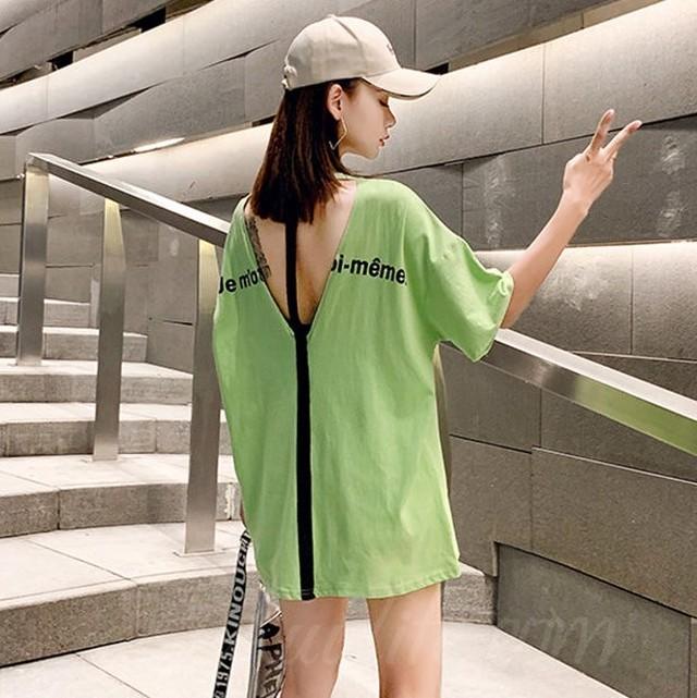 【トップス】ファッション半袖ラウンドネックプルオーバー透かし彫りTシャツ28104515