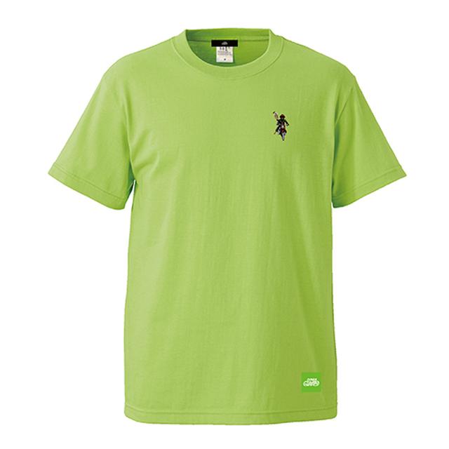 べジタルサンドイッチロゴ刺繍Tシャツ / レタス | VEGITALE SANDWICH x SINE METU