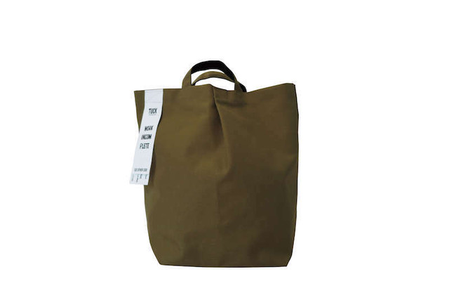 TUCK BAG-W'S_NYLON KHAKI