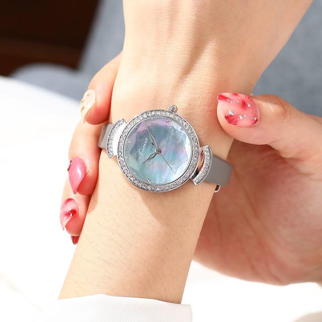 Kimio AF-Z1002 Aurora(Blue) レディース腕時計