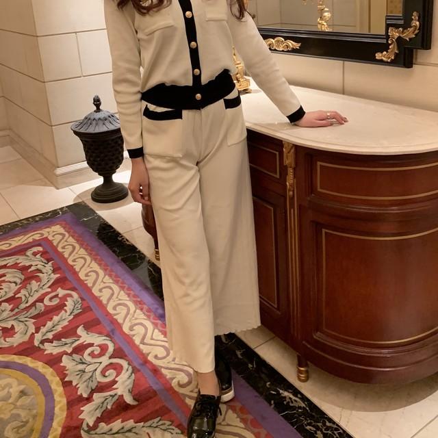 elegant wide pants