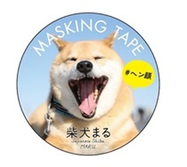 柴犬まる;マスキングテープ;♯ヘン顔