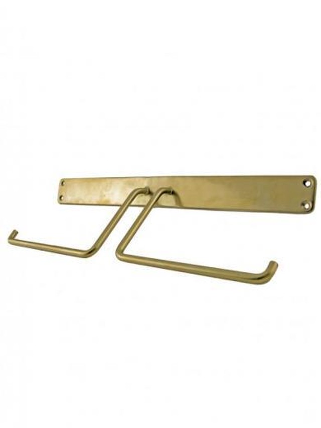 Brass Paper Holder W