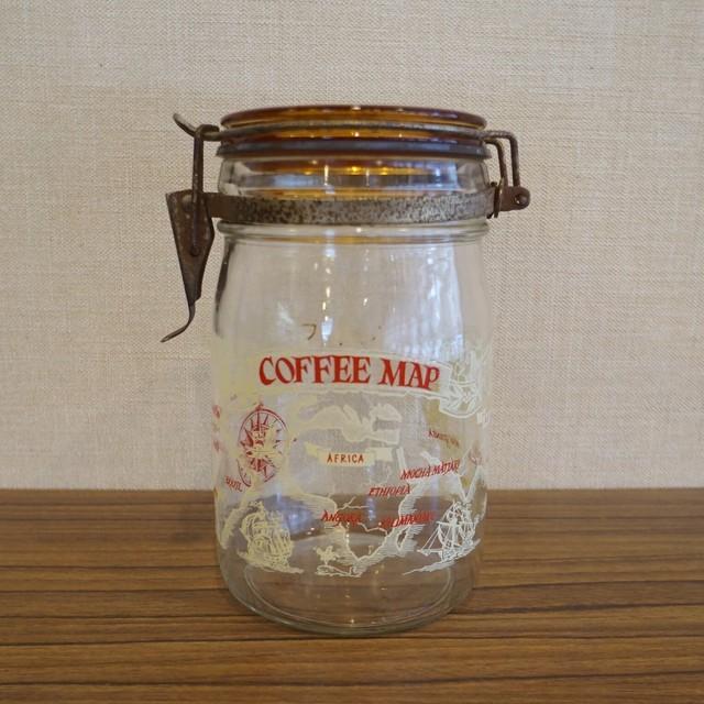 アカシヤ コーヒーキャニスター