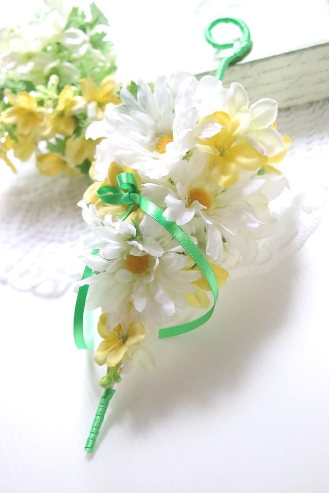 アンブレラの花飾り