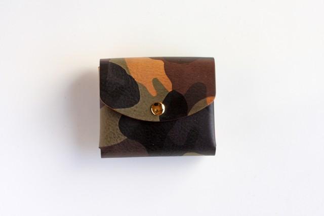 ◆エル ヴァケーロ_ブラウン◆外装◆こども財布◆三つ折り