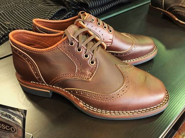 "Wesco - Robert William - Horween Horsehide Brown ""Shoemaker Family Collection"""