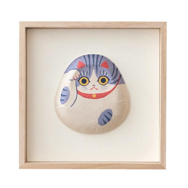1種飾り サバ白猫 F01-DA010