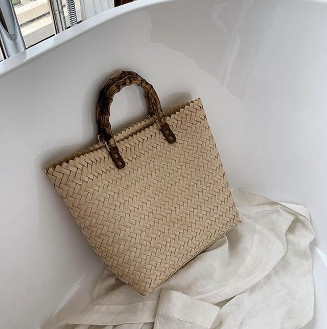 30%OFF Bamboo bag natural / バッグ / LE-bg14
