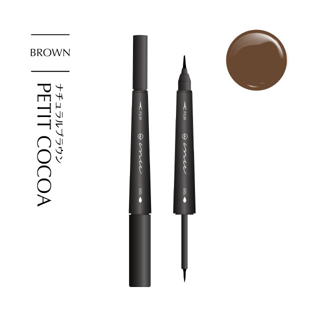 MORE BLOOM DUAL EYELINER #PETIT COCOA - メイン画像