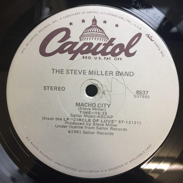 The Steve Miller Band – Abracadabra / Macho City