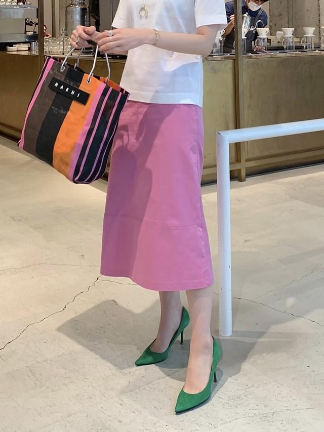 trapeze skirt / pink 3/27 21:00 ~ 再販 (即納)