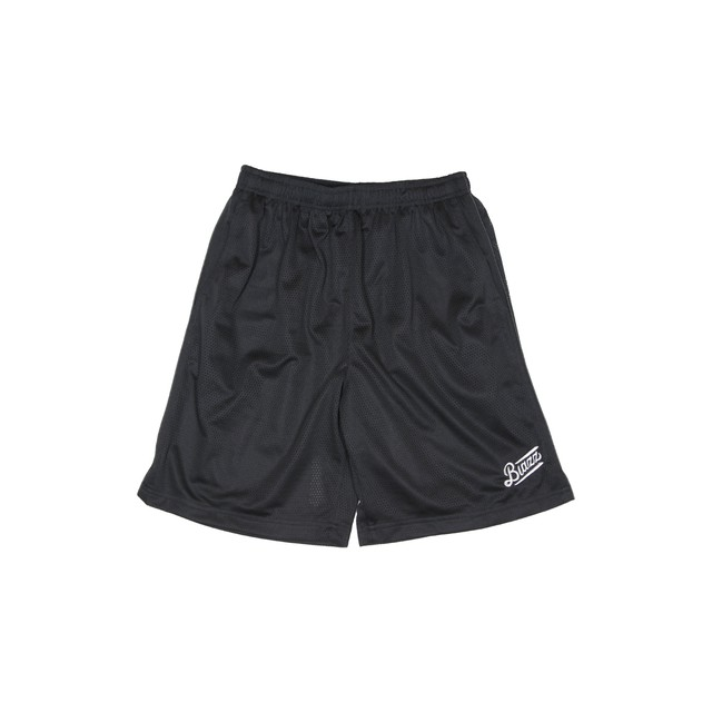 LOGO PRO CLUB MESH SHORTS [BLACK]