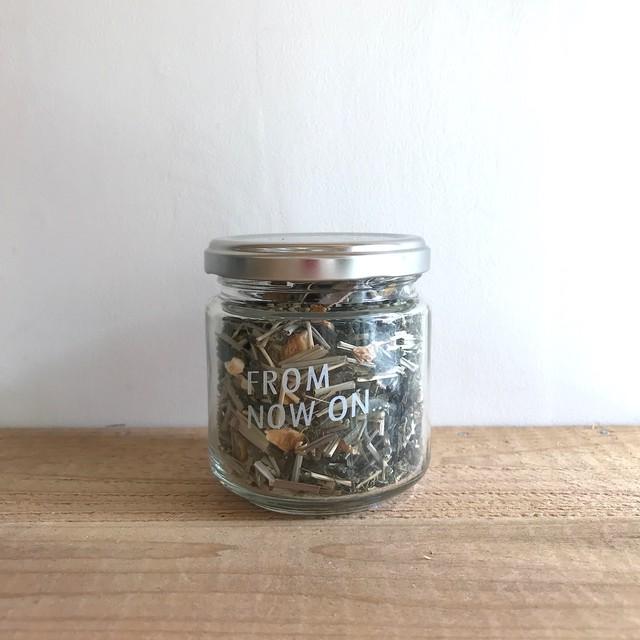 """ FNO Lemongrass & Yuzu flavored greentea / レモングラス&ゆず フレーバーグリーンティー ガラスS 50g """