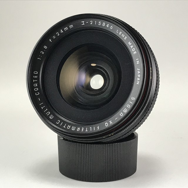 SIGMA XQ FILTERMATIC MULTI-COATED 24mm F2.8