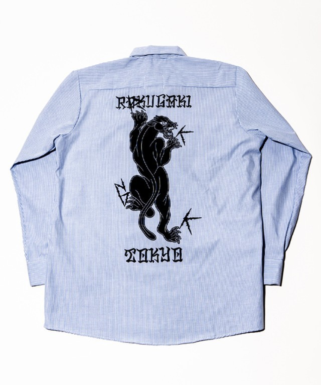 [予約商品]RAKUGAKI NEON Logo Big Long Sleeve Shirts
