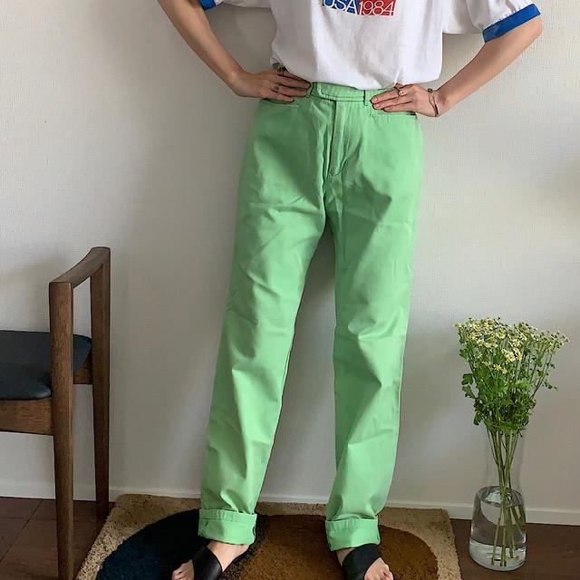 """90's """"Ralph Lauren"""" green pants"""