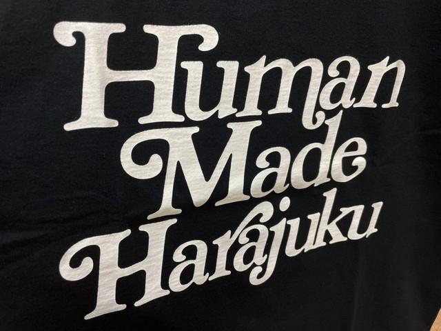 HUMAN MADE GIRLS DON'T CRY HARAJUKU TEE BLACK WHITE XL 50JK0612