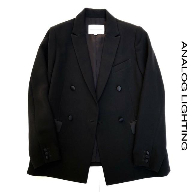 Tuxedo Jacket/BLACK
