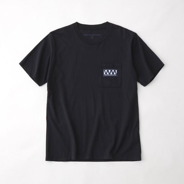 WM LOGO POCKET T-SHIRT - NAVY
