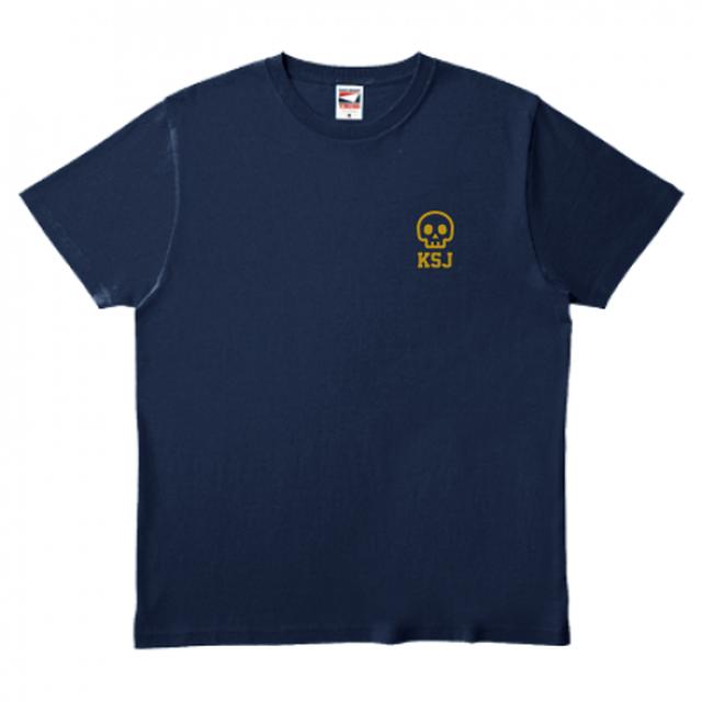 ファイナンス中の心情を理解してくれるTシャツ(ネイビー)(綿100%)