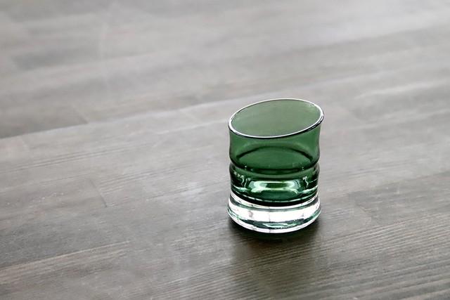 ぐい吞み(小)青竹 38SP24‐01 BAMBOO GLASS *丸モ高木陶器* お酒をより楽しむためのおしゃれな酒器!