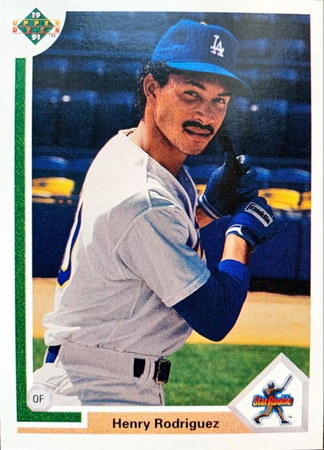 MLBカード 91UPPERDECK Henry Rodriguez #021 DODGERS STAR ROOKIE