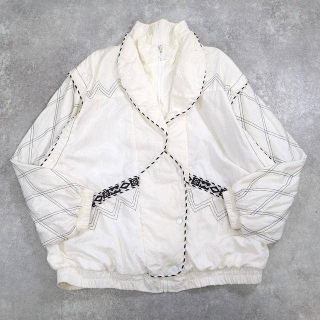 vintage white design blouson