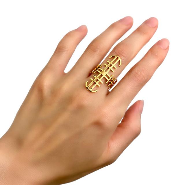 タトゥーリング 【Chess Symbol - Gold】