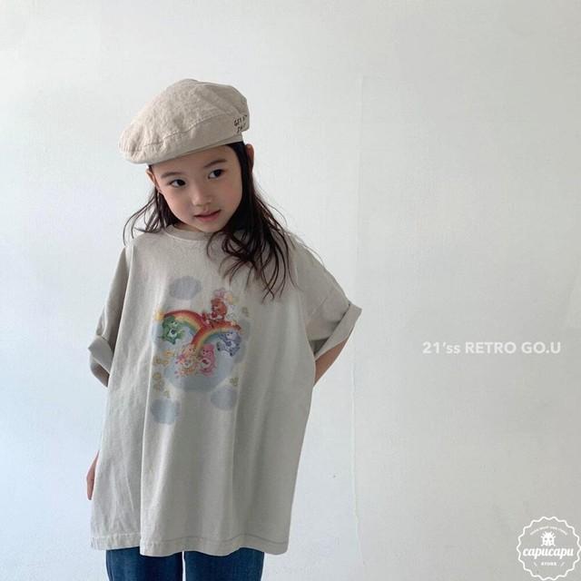 «予約» go.u care bears T shirts ケアベアTシャツ