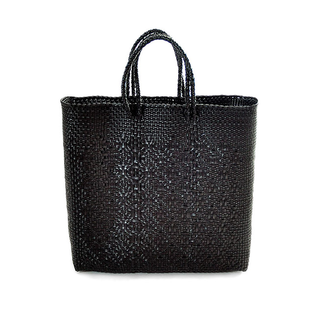 MERCADO BAG ROMBO - Black(M)