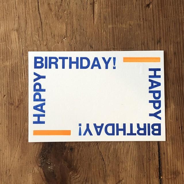 ポストカード HAPPY BIRTHDAY お誕生日おめでとう